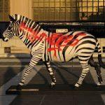 Thunder and zebra art