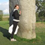 Greenie at Stonehenge and South African sacred sites