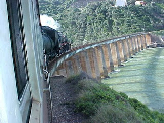 Blue Train, Outeniqua Choo Tjoe,  train trips