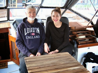 Us on our beloved boat