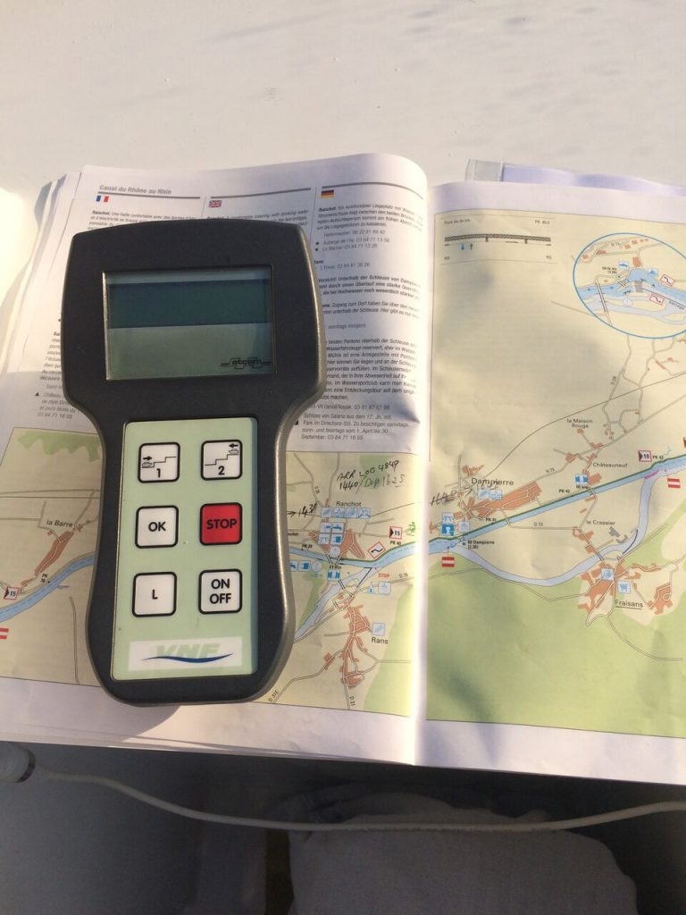 VNF remote control and Waterways Fluvial map