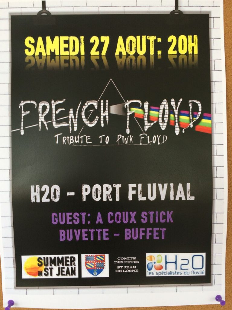 Poster advertising French Floyd
