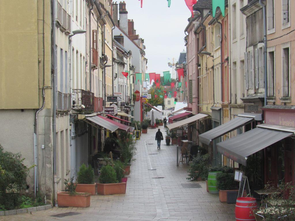 Chalon sur Saône town