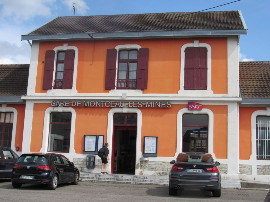 Train Station in Montceau-les-Mines