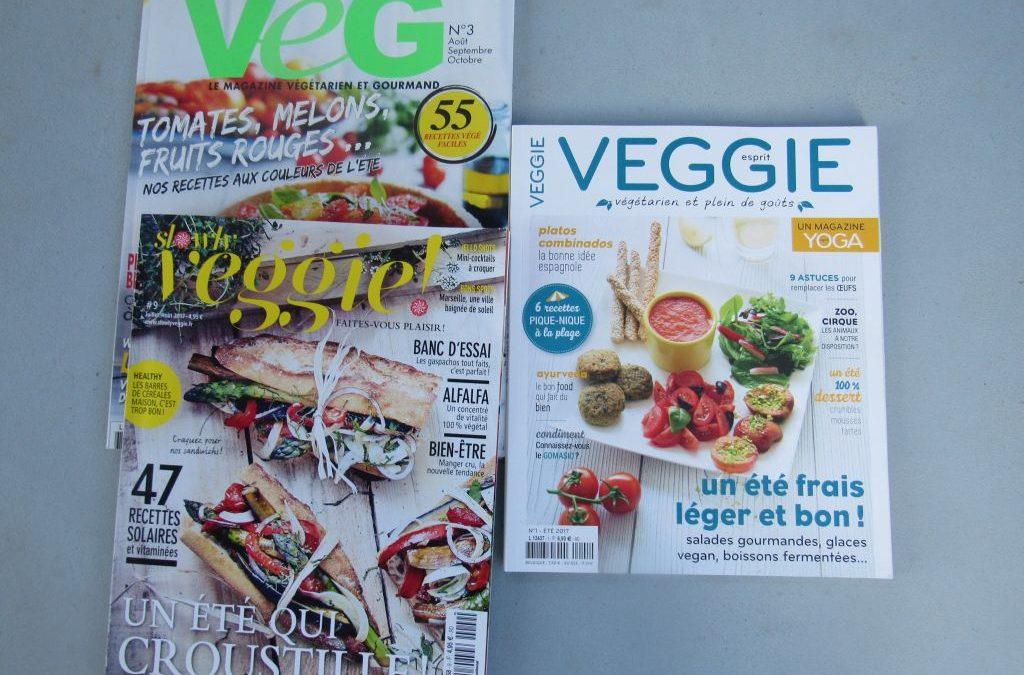 French Veggie magazines