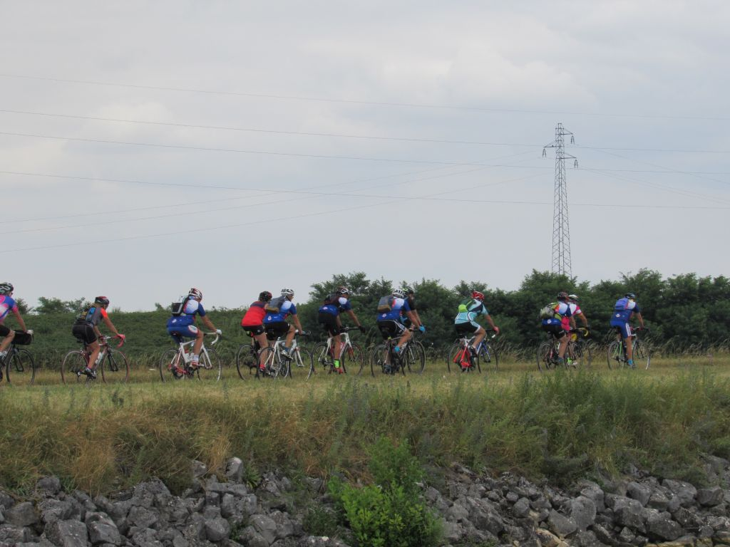 Cyclists on the Velo Route