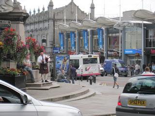 Scotland road trip Aberdeen to Edinburgh
